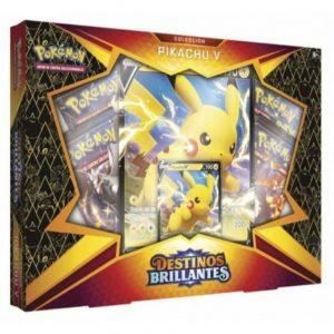 Caja Pikachu V Destinos Brillantes